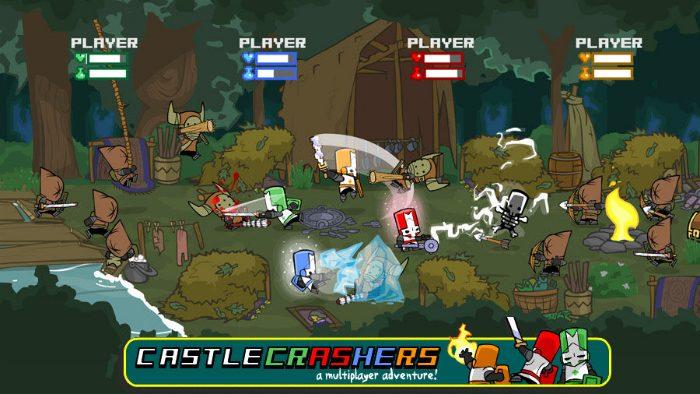 bra coop spel castle crashers