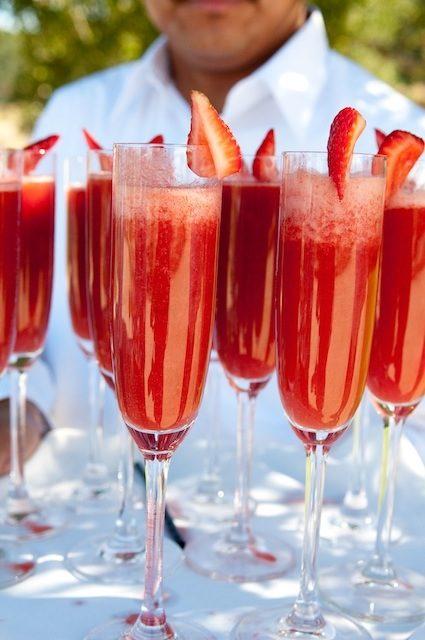 jordgubbs mimosa