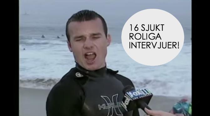 roliga intervjuer