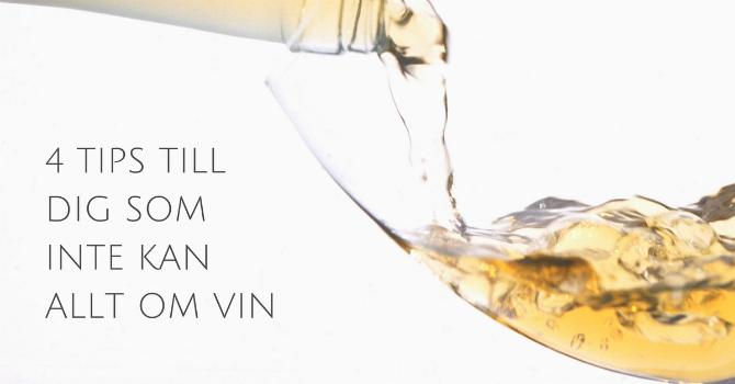 Beställa vin på krogen