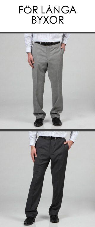 För långa byxor