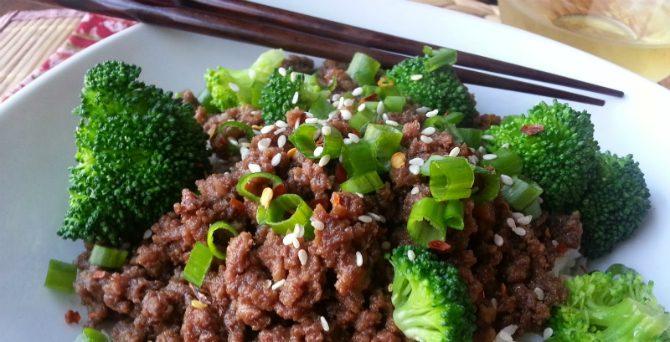 Koreansk Köttfärs