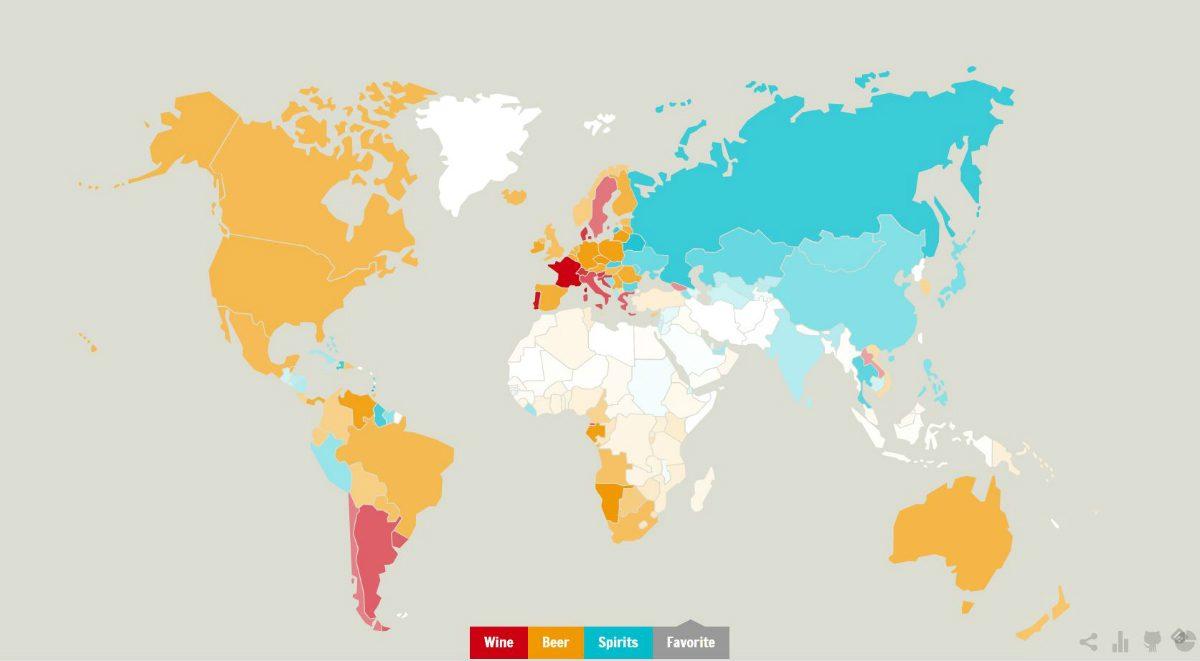 alla länders favoritdryck