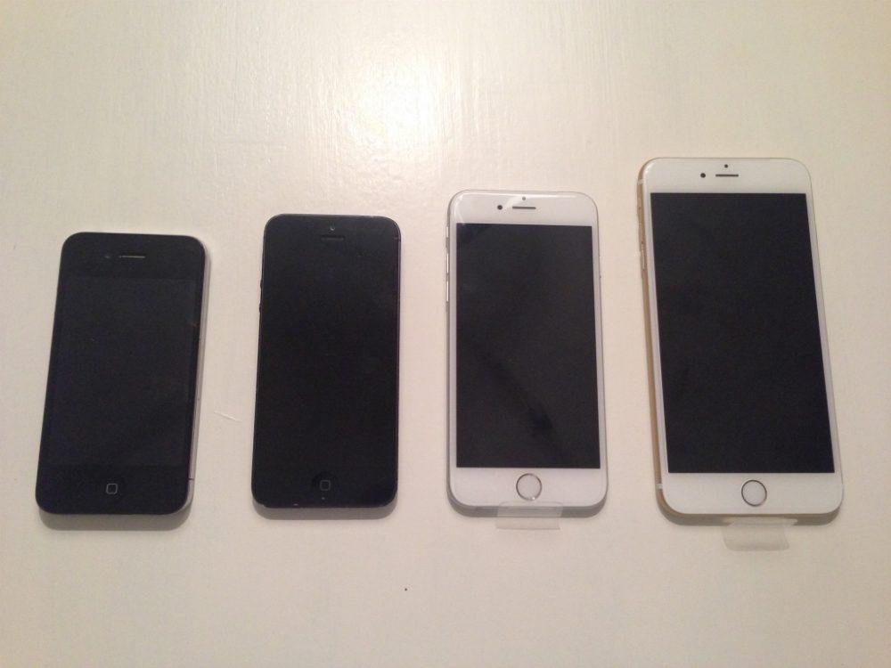jämförelse iphone 5 och 6