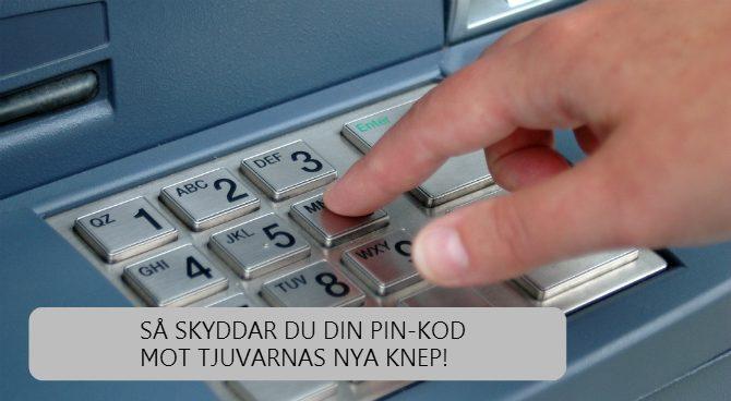 skydda pin-kod