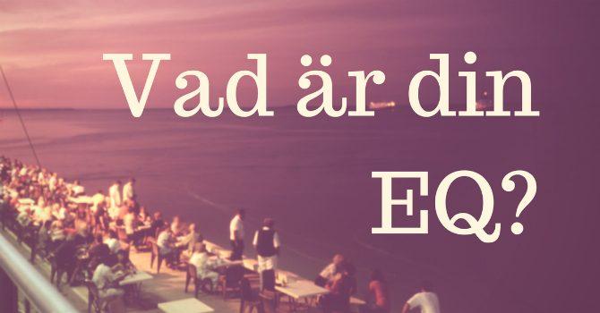 Vad är min EQ