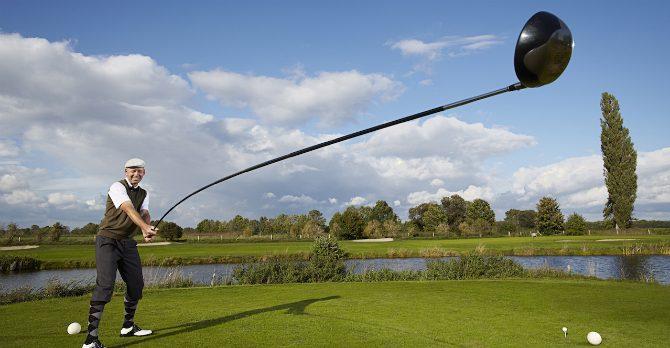 världens längsta golfklubba