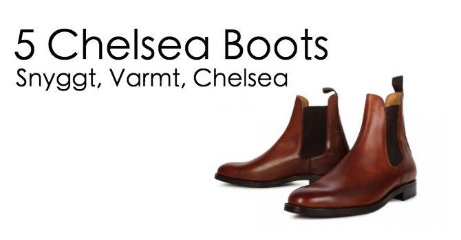 c71dfd3d7fc Chelsea boots - 5 riktigt snygga vinterskor!