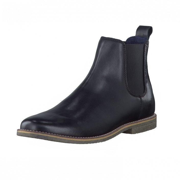 Chelsea boots billigt bianco svart
