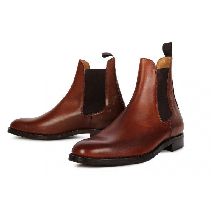 Chelsea boots morris brun