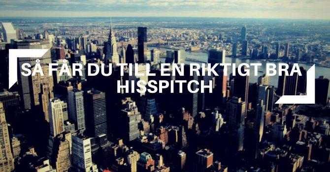 Hisspitch bra