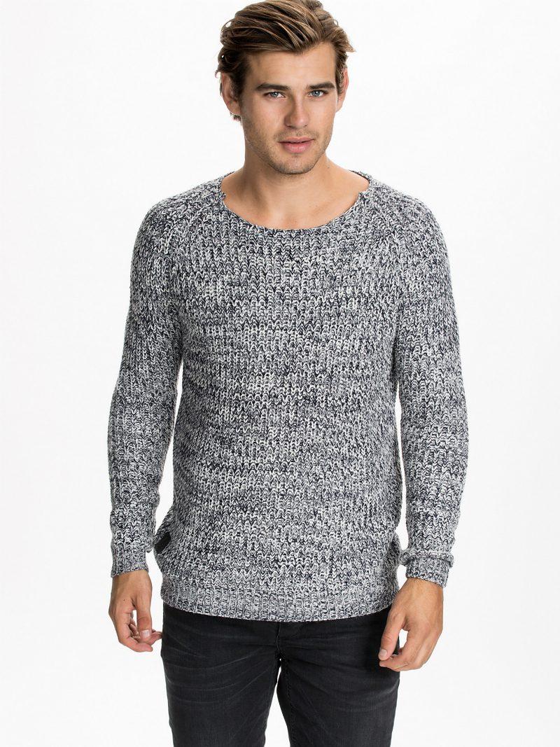 stickade tröjor höst 2014 grå
