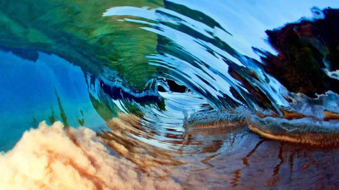 Undervattensfotografering vågor