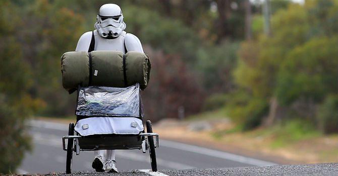 Utklädd till Stormtrooper