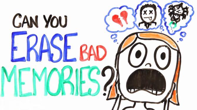 kan man glömma dåliga minnen