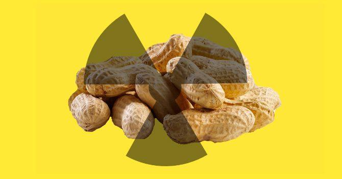 radioaktiv mat