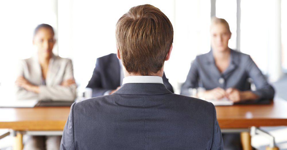 kroppsspråk på anställningsintervju