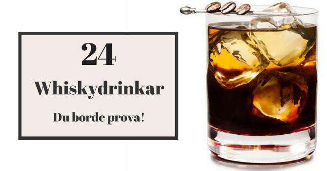 Whiskydrinkar