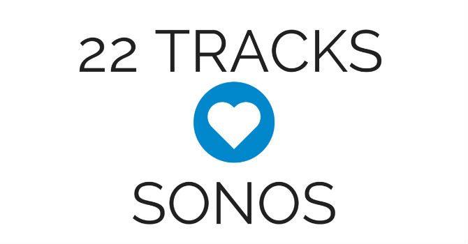 22 Tracks sonos