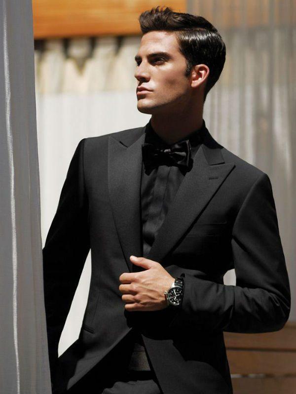 se längre ut svarta kläder