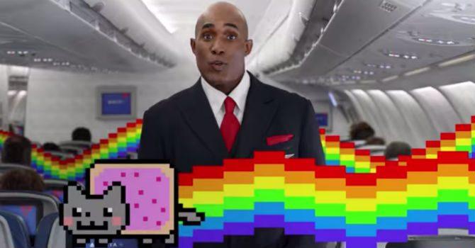 Delta airlines säkerhetsfilm 2
