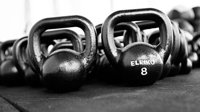 Kettlebell komplex komplex-träning