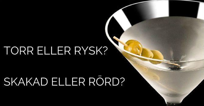 Martini recept Dry martini Vodka Martini