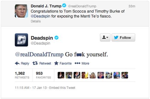 Donald Trump Twitter 7