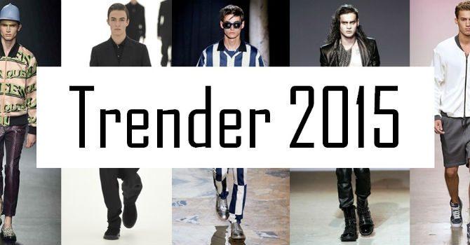 Herrmode-trender 2015