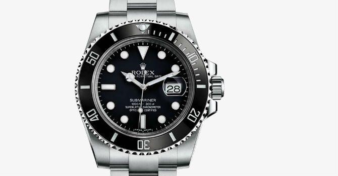 Tidlösa klockor Rolex Submariner Steel