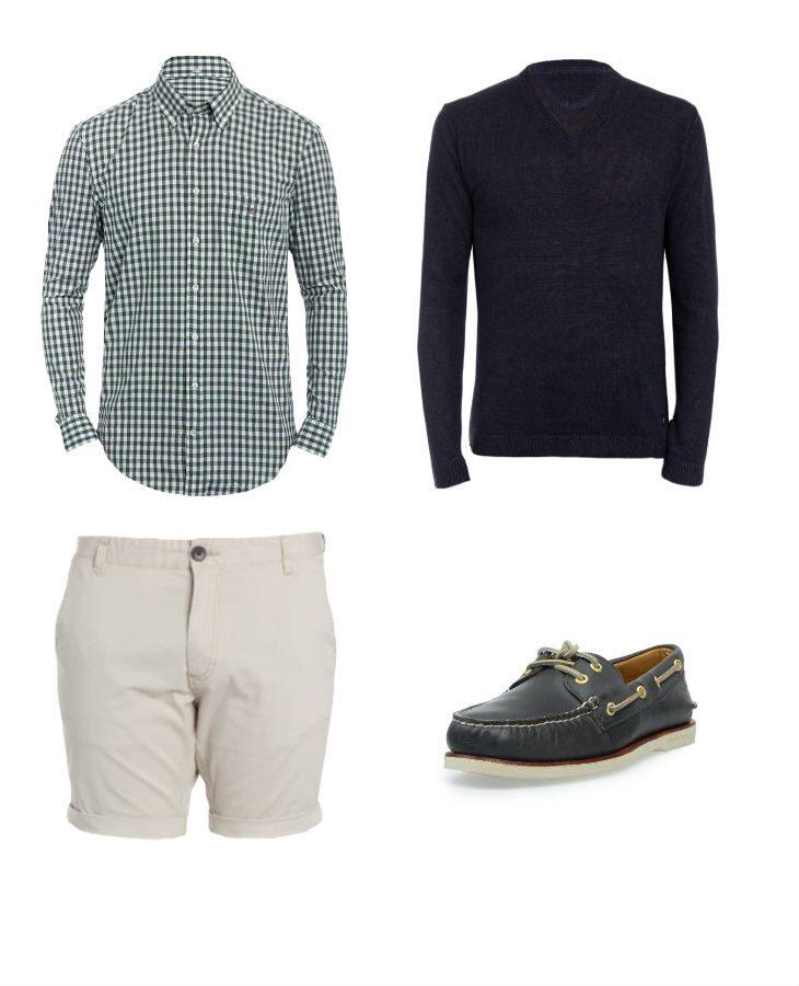 dressad outfit för brunch