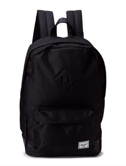 svart ryggsäck mode trendig