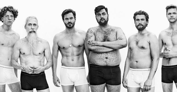 Dressman kampanj alla män är perfekta