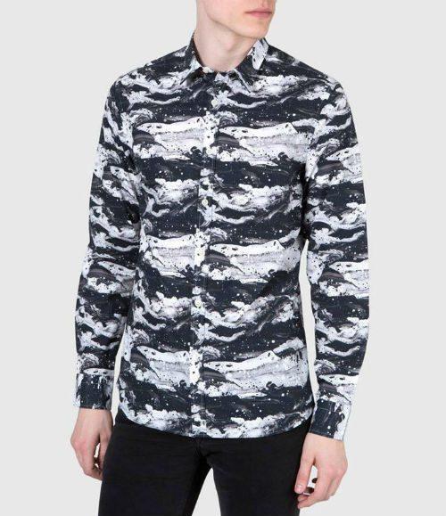 Herrmode Höst 2015 mönstrad skjorta