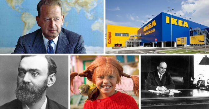Mest Berömda Svenskarna