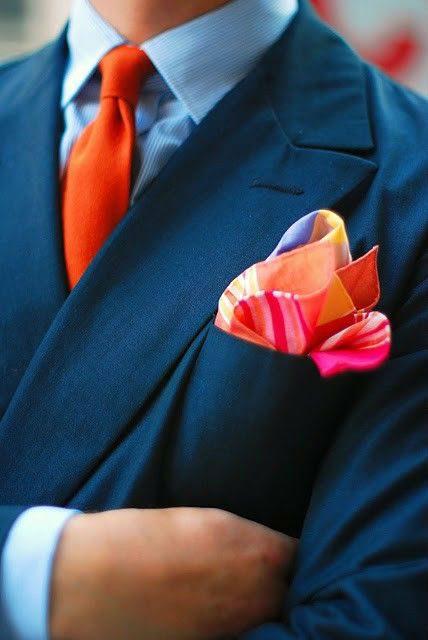 accessoarer för män näsduk