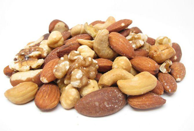 proteinrika snacks nötter