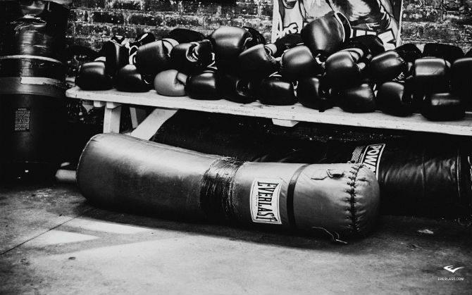 Träna Med Boxningssäck hur tung