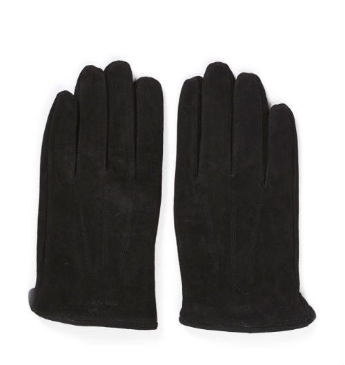 bruna handskar gant mocka
