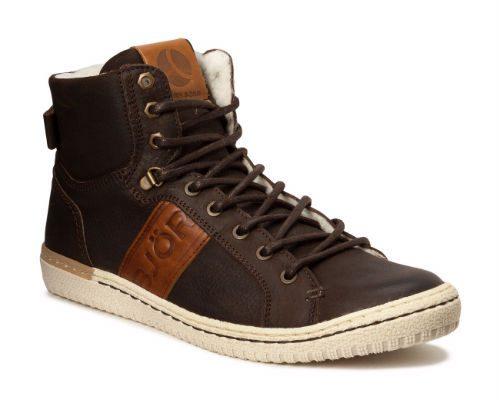 bruna sneakerkängor