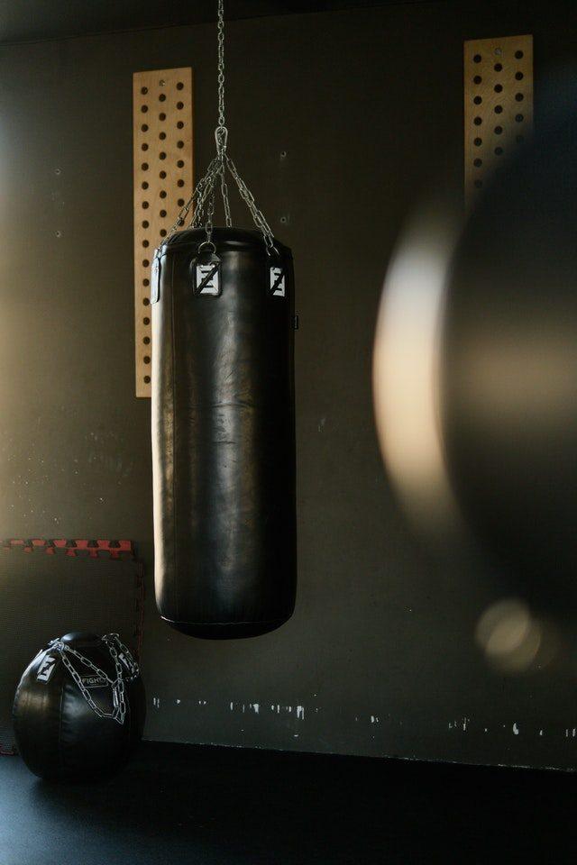 träna med boxsäck lång eller kort