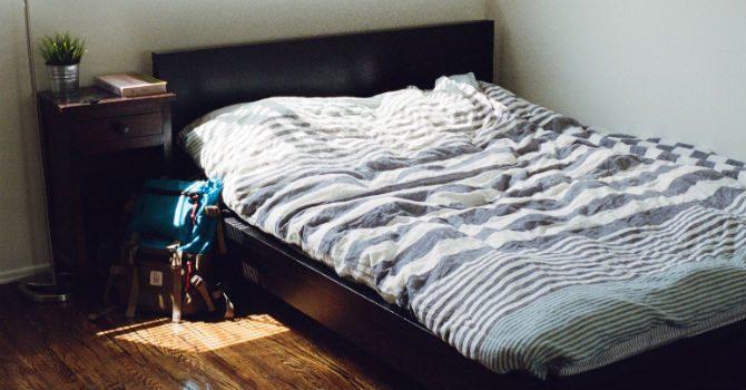 Bädda Sängen På Morgonen