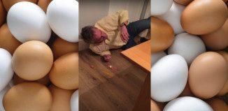 Gå på ägg