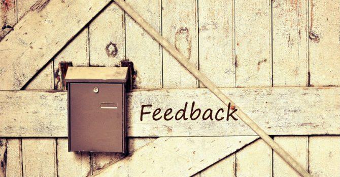 hur ger man konstruktiv feedback