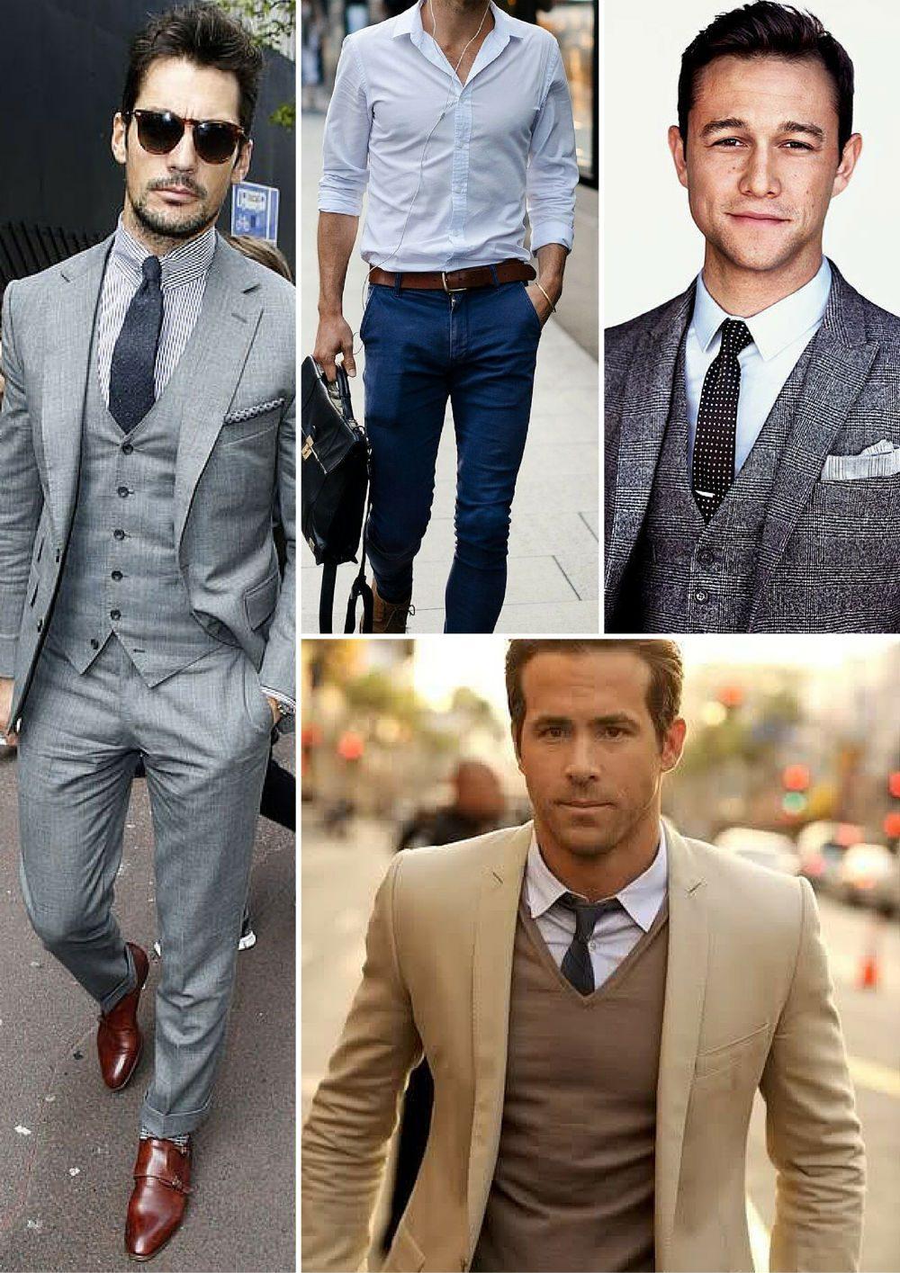 olika typer av skjortor dressad kostymskjorta