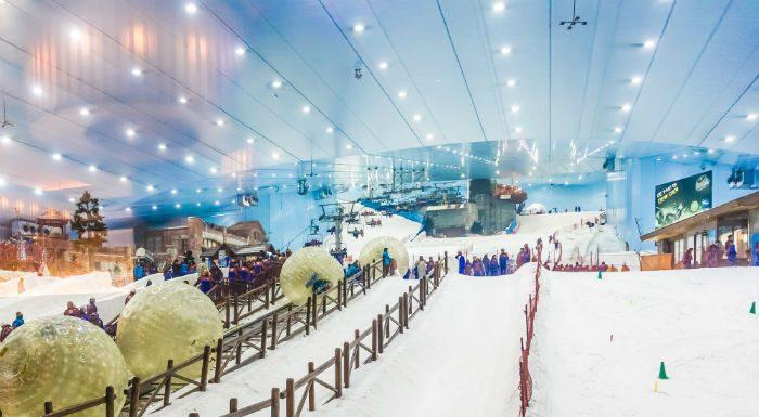 saker man måste göra i dubai - dubai ski