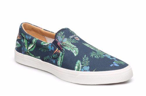 blommiga skor gant