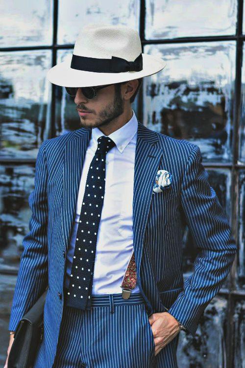 matcha slipsen snyggt kontrast mönster