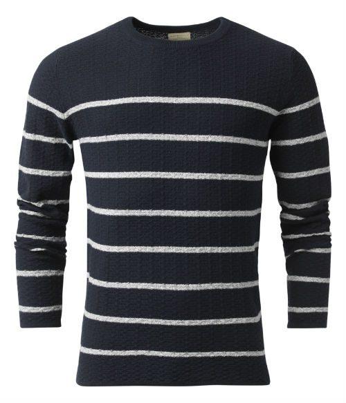 randig marin tröja herr 2016