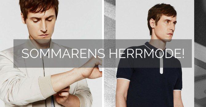 Herrmode Sommar 2016 Header